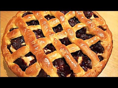 Сдобный Пирог с Вареньем -  Очень Вкусный и Воздушный