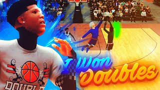 I won the DOUBLES EVENT with the BEST BUILD ON NBA 2K19! I got the best jumpshot on NBA 2K19