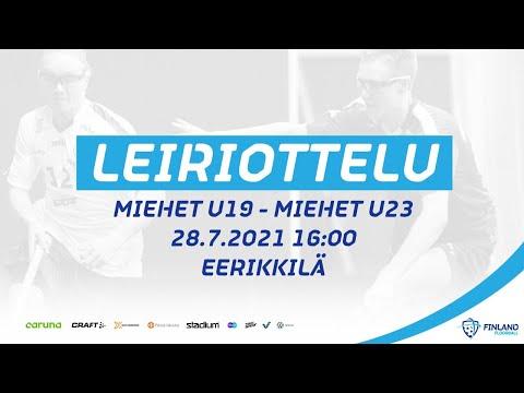 Maajoukkueleiriottelu Miehet U19