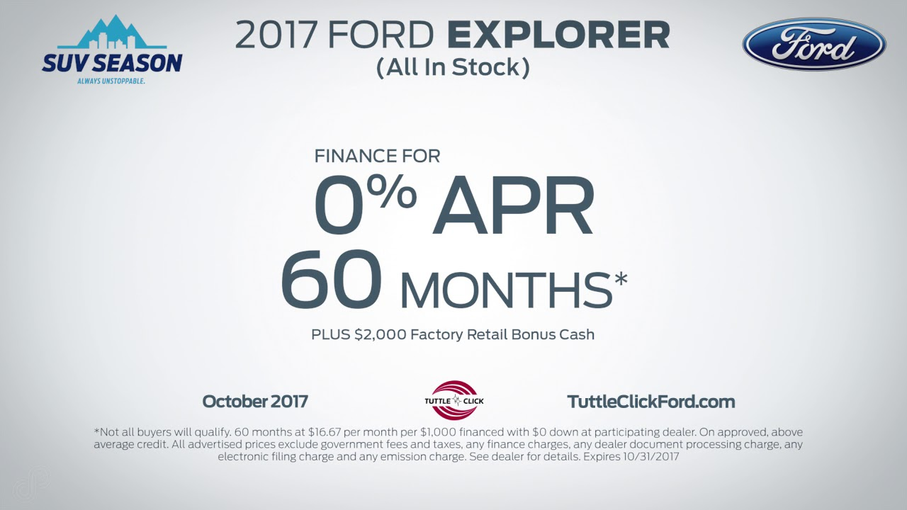 Tuttle Click Ford >> Tuttle Click Ford October Offers Sps 2