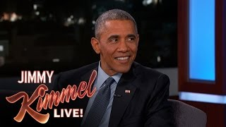 President Barack Obama Denies Knowledge of Aliens thumbnail
