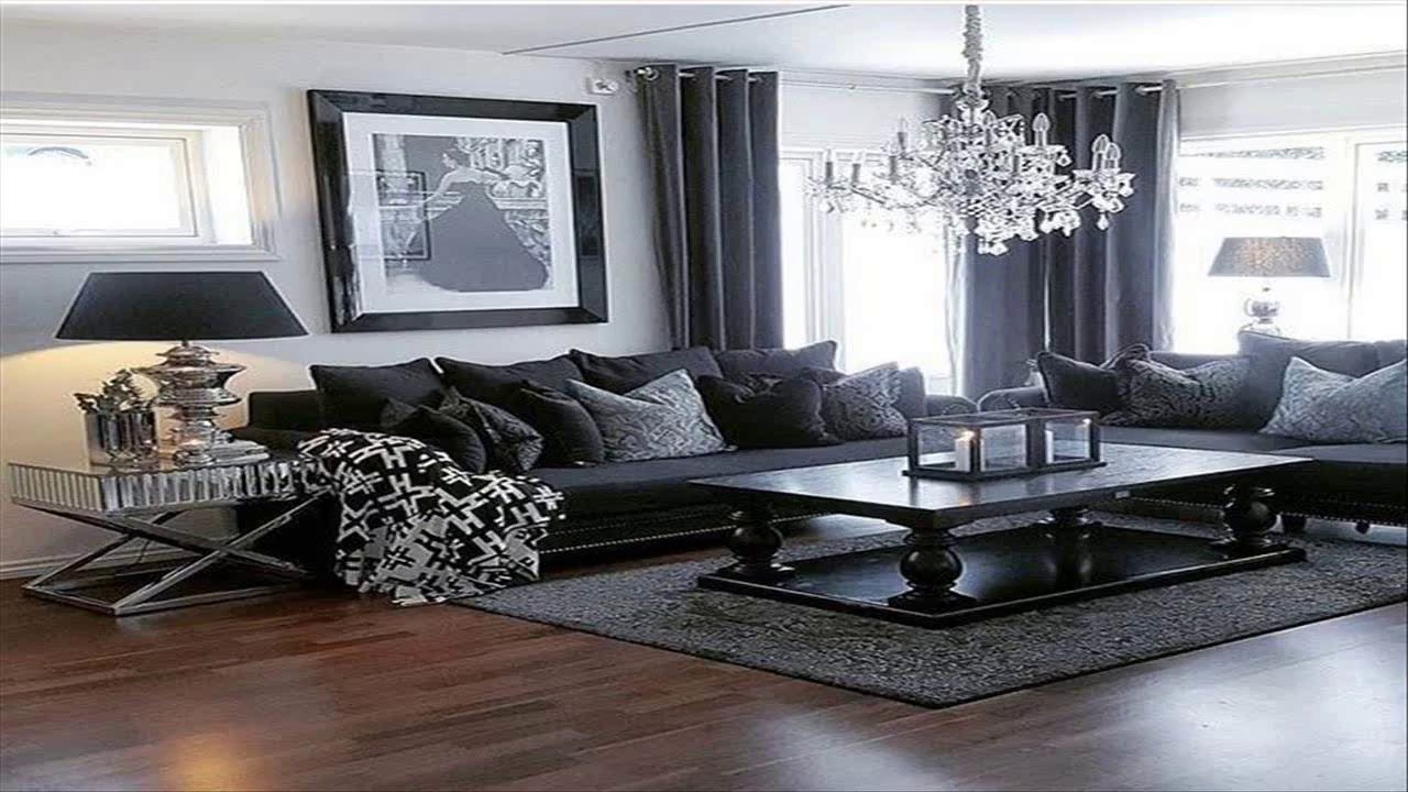 Black And Grey Living Room Designs Youtube