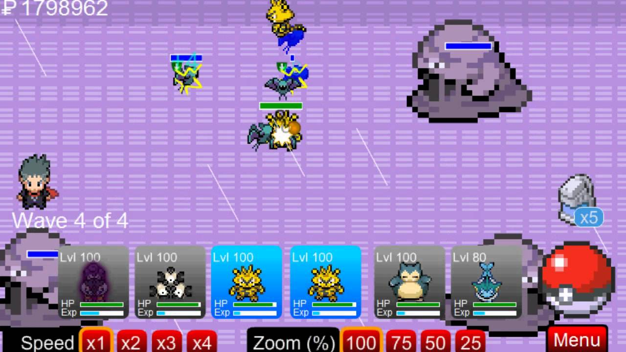 pokemon tower defense 4