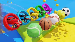Super Car Toys for Kids Playtime Videos for Kids Sports balls Colors and More