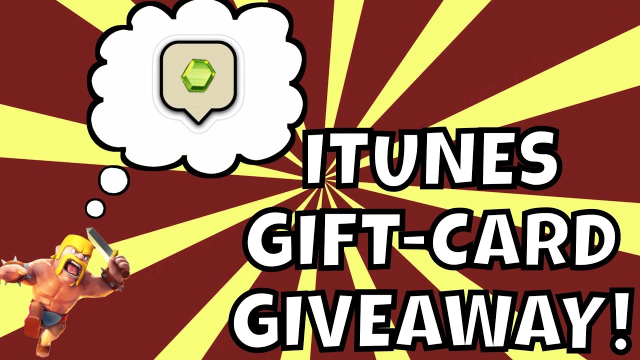 gift card giveaway youtube