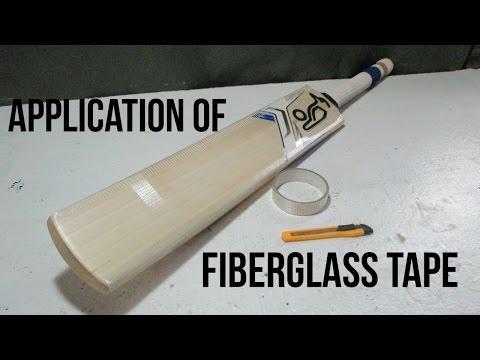 Cricket Bat Fiberglass Tape