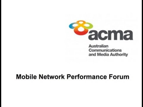 Market Clarity | Shara Evans - ACMA Mobile Network Performance Forum