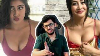 carryminati roast sofia ansari  most xxx beautiful girl rosted by carryminati new video