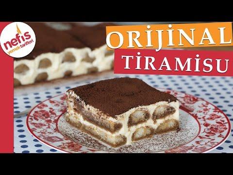 Gerçek Tiramisu Tarifi -  İtalyan Tiramisu Nasıl Yapılır?