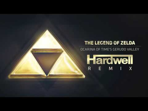 The Legend Of Zelda - Ocarina Of Time's Gerudo Valley (Hardwell Remix)