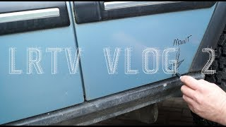LRTV VLOG 2  D2 conversion.  Some insights before any cuts are made.