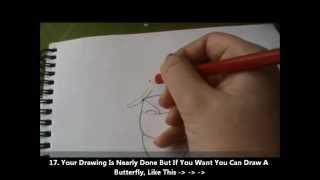 How To Draw Kiara Easily {18 Steps = 15 Minutes}