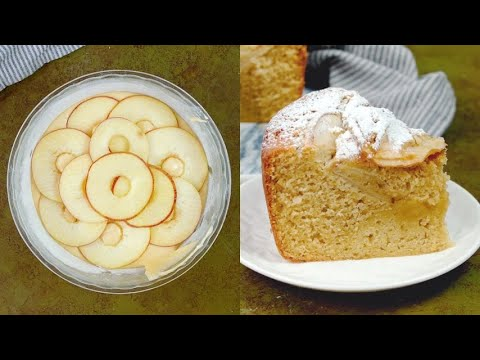 Apple chiffon cake the american way to surpise your guests