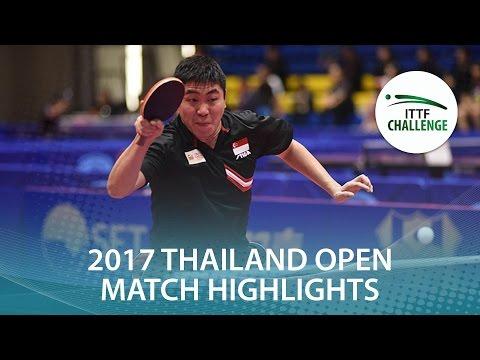 2017 Thailand Open Highlights: Gao Ning vs Jin Ueda (Final)