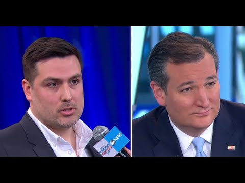 Ted Cruz Discusses Gay Marriage, LGBT Laws