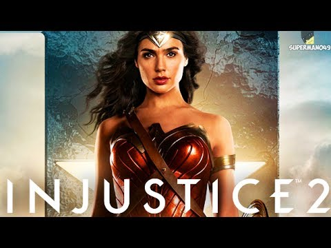 "WONDER WOMAN MOVIE EPIC GEAR!! - Injustice 2 ""Wonder Woman"" Gameplay (Online Ranked)"