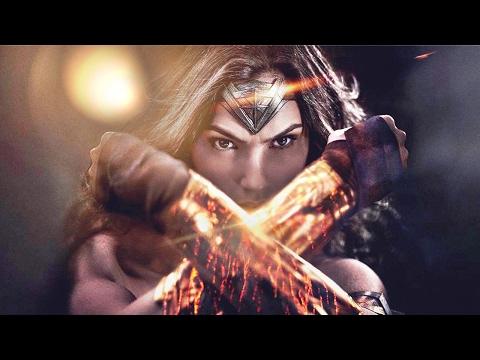 Wonder Woman Epic Video = Theme Song + Trailer Scenes