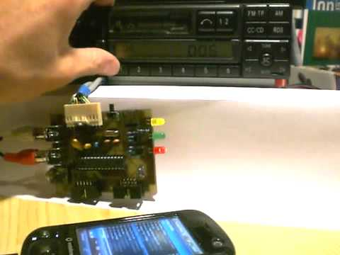 Pin Wiring Diagram Aux In On A Mercedes Becker Car Radio Youtube