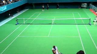 第48回島津全日本室内テニス選手権大会 男子シングルス準決勝 vol.2