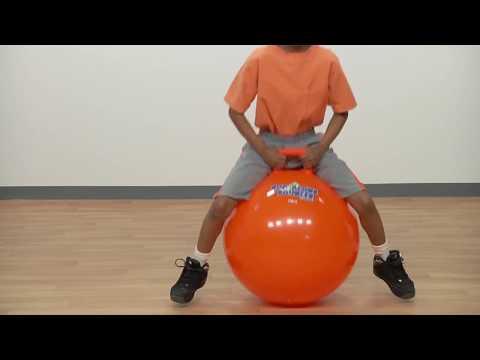 Bounce Ball With Handle Youtube