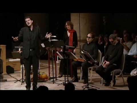 'Ciaccona del Paradiso e del Inferno' P Jaroussky + Arpeggiata - Pluhar, life