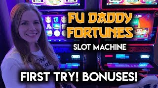 First Try on Fudaddy Fortunes! Slot Machine!! Free Spins BONUSES!!