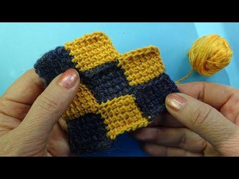 Узоры вязания » Вязание спицами и крючком