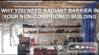 Metal Building Radiant Barrier - WareHouseFoil.com Thumbnail