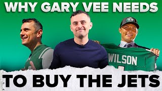 The Real Reason Gary Vee Will Own The Jets 🏈 | #shorts