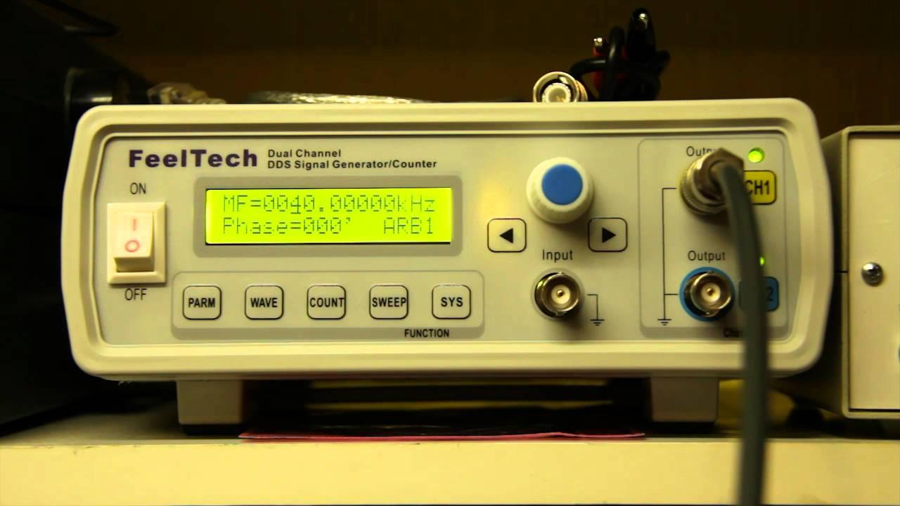 FeelTech FY3200 Digital-DDS Zweikanal-Funktion Signal Source Generator Arbitrary