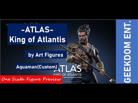 Aquaman Figure Preview | Atlas King Of Atlantis By Art Figures