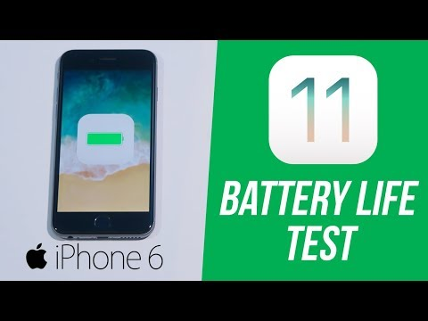 iOS 11 on iPhone 6: Battery Drain Test! (How Long Will It Last? & How to Improve)