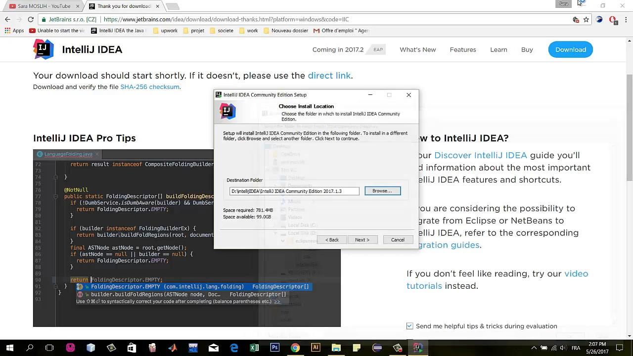 Download and Install IntelliJ IDEA Pro