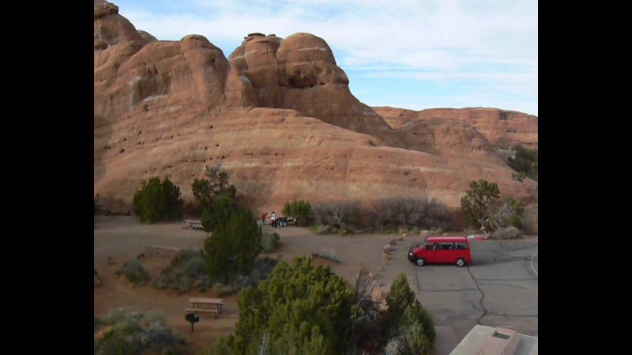 Devils Garden Campground, Arches National Park - YouTube