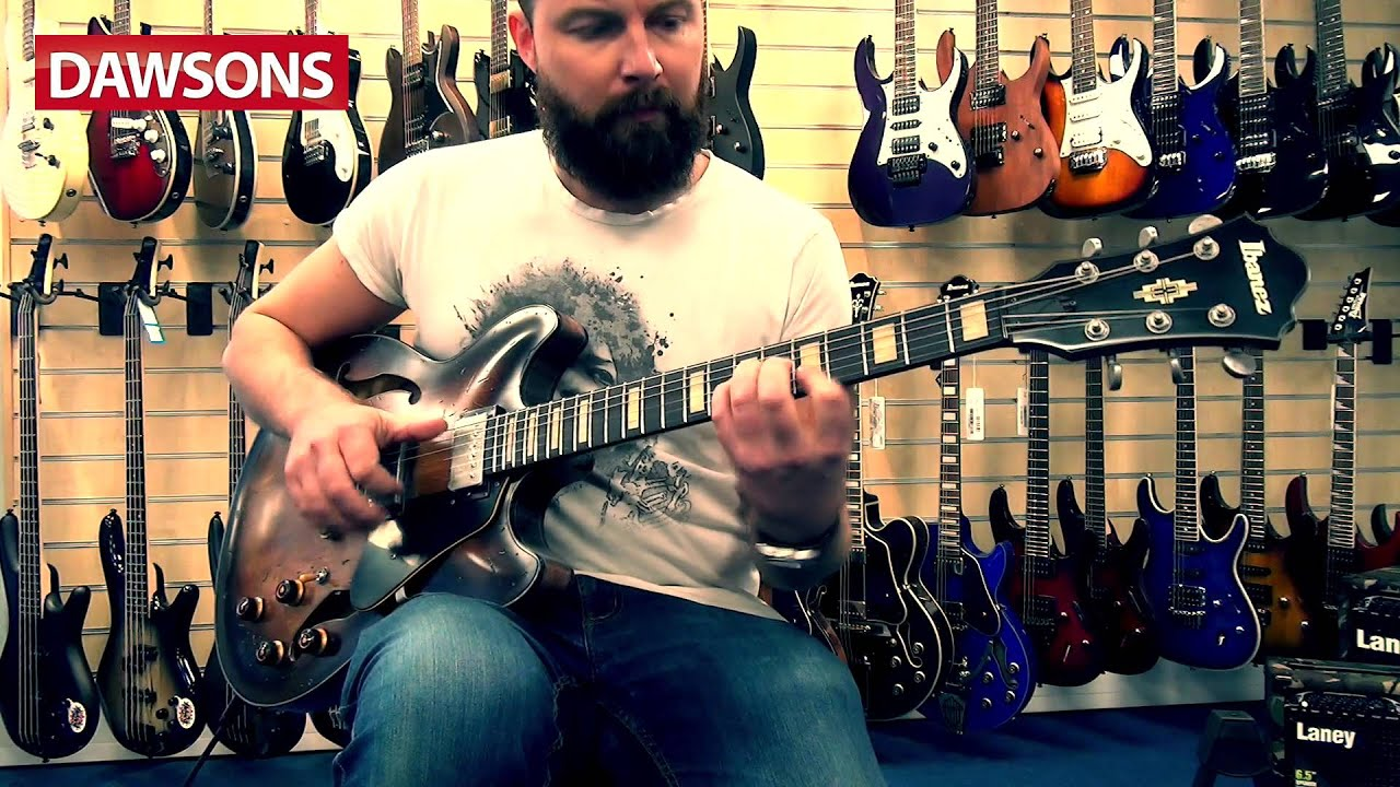 ibanez 2016 asv10a tcl artcore review youtube