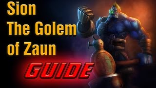 [Build Guide] How To Play Sion 3v3 [Season 5] - RANDOM 3v3 INVITATION | League of Legends