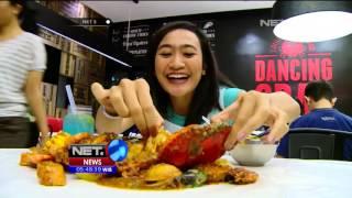 Makanan Unik, Hidangan Kepiting Spesial Tanpa Piring - NET5