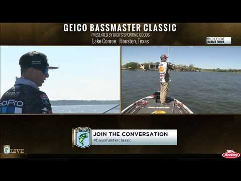 Bassmaster Live: 2017 Classic-  Day 2, Part 2
