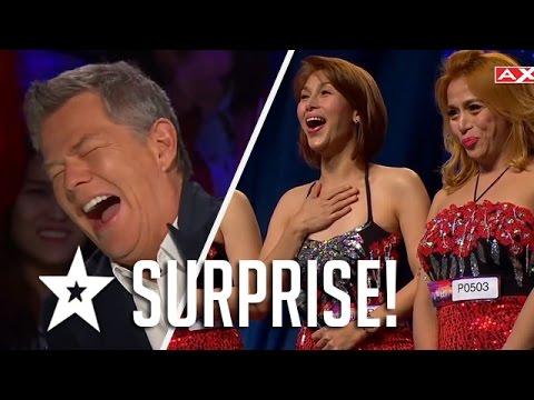Sex Bomb Surprise! The Miss Tres Audition On Asia's Got Talent   Got Talent Global