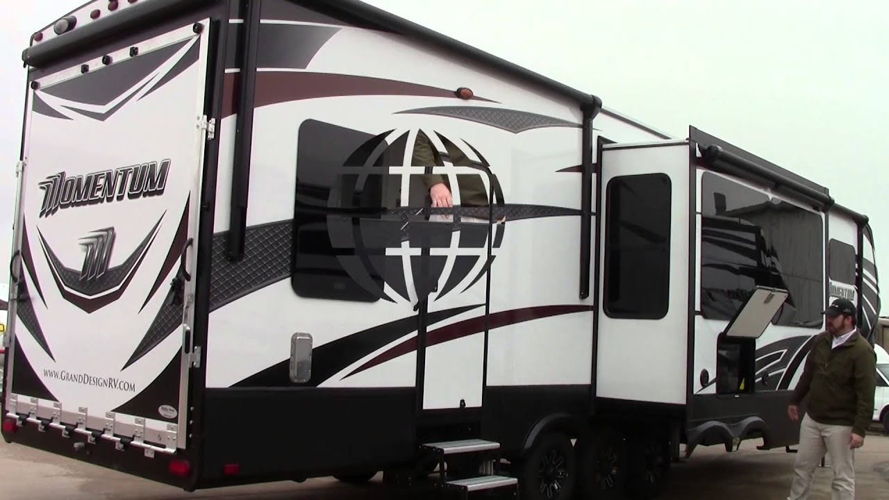 New 2016 Grand Design Momentum 397TH Fifth Wheel Toy Hauler Holiday