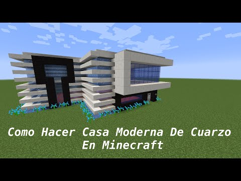 Full download como hacer una casa moderna en minecraft pt3 for Como construir una casa moderna