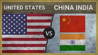 UNITED STATES vs CHINA, INDIA ✪ Army Comparison ✪ 2018 (RANKING)
