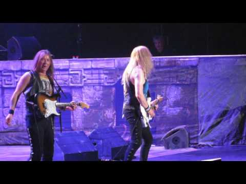 Iron Maiden - Fear of The Dark live @ LeSports Center, Beijing, China - 24th April 2016