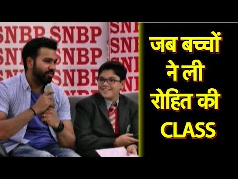 EXCLUSIVE: Rohit Sharma goes to School and Let's the Secret of His Success | SportsTak