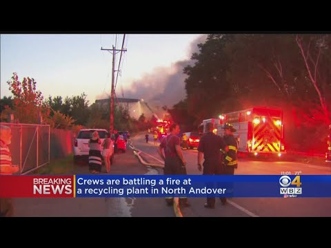 Ashlee - North Andover Residents Urged To Stay Indoors As Overnight Blaze Continues
