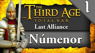 NEW* LORD OF THE RINGS MOD! Third Age Total War: DCI Last Alliance: Numenorean Kingdoms Campaign #1