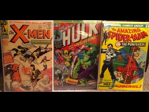 My Top 25 Key Comic Books