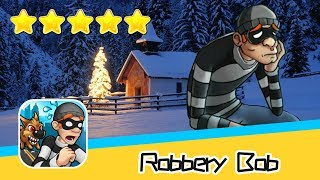 Robbery Bob Winter Level 11-15 Walkthrough New Game Plus Recommend index five stars