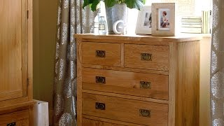 Salisbury Petite Oak 2+3 Chest - Pinesolutions