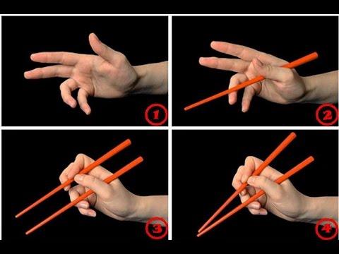 Как есть палочками Фото Видео